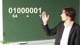 Code Binaire et ASCII (Partie 1) - Tutoriel #1 - CrackMeBros (Maxime Bros)