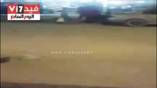 بالصور.. تدهور البنية التحتية للشوارع الرئيسية بحى المنتزه فى الإسكندرية
