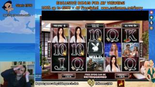 Playboy Big Bets - Super Big Win!