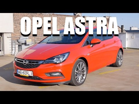 Opel Astra 2016 1.4 Turbo 150 HP ENG Test Drive and Review