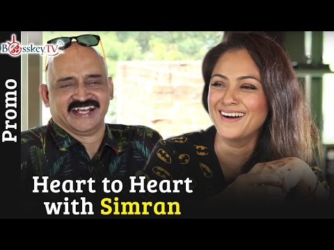 Actress Simran opens up to Bosskey | A Bosskey TV Exclusive | Heart To Heart