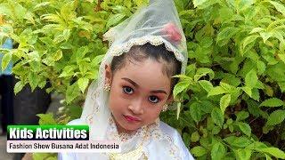 Fashion Show Busana Adat Indonesia | Di Taman Remaja Surabaya