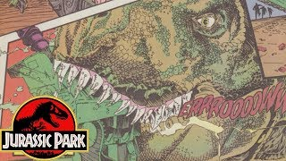 A Review of the FIRST Sequel to Jurassic Park (1993 - 1994) - Jurassic Park Raptor Comics