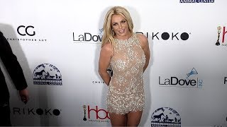 Britney Spears 4th Annual Hollywood Beauty Awards Green Carpet