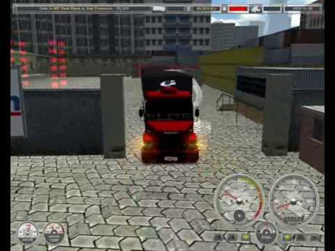 Scania 113h Haulin manobra. pente na turbina