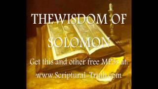 The Wisdom of Solomon - Entire Book (The Book of Wisdom)