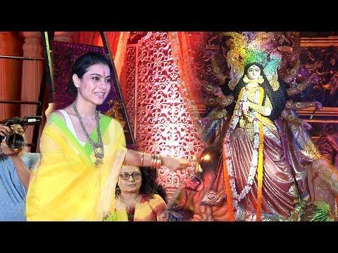 Xxx Mp4 Kajol S Durga Puja 2018 Celebrations Complete Video HD 3gp Sex
