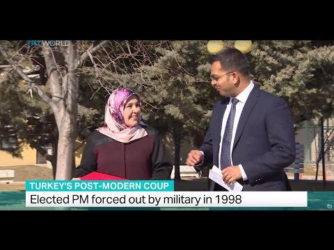 Turkey's Post-Modern Coup: Elected PM forced out by military in 1988