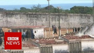 Brazil prison riot: They say my husband is dead - BBC News