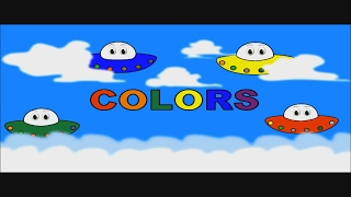 Learn Colors For Kids With Spaceships - Videos For Preschoolers