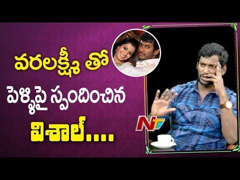 Xxx Mp4 Vishal Gives Clarity On Marriage With Varalakshmi Sarath Kumar Point Blank NTV 3gp Sex