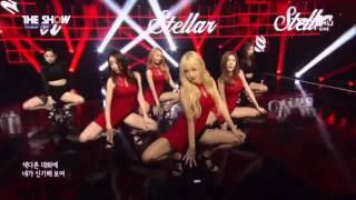 "Live HD | 150721 스텔라 ""떨려요 (Vibrato)"" (Comeback Stage) @ SBS MTV 더 쇼"