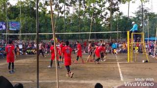 Final volleyball 2017 team PERDAPA VS Bandung tektona