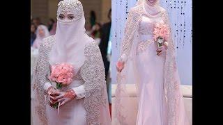 Awesome Arabic Bridal Wedding Gown 2017