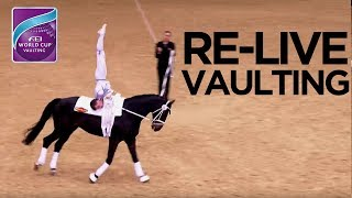 RE-LIVE | FEI World Cup™ Vaulting FINAL - 1st competition | Dortmund
