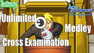[DS Genealogy] Unlimited Cross-Examination Medley - Phoenix Wright: Ace Attorney [Extreme-Mashup]