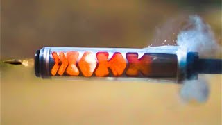 See Through Suppressor in Super Slow Motion (110,000 fps)  - Smarter Every Day 177