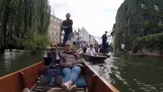 Punting In Cambridge, UK - GoPro Hero 3+