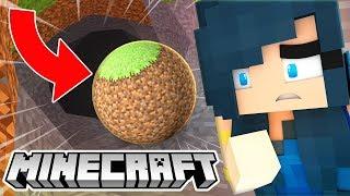 WHAT IF MINECRAFT WAS ROUND? (Minecraft Mods)