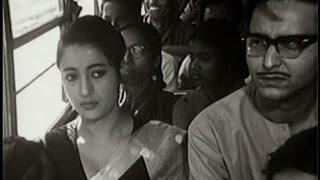Saat Pake Badha (1963) || Bangla Old Movie(Suchitra and Soumitro).