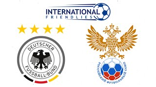 FIFA 19 GERMANY VS RUSSIA INTERNATIONAL FRIENDLY