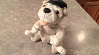 eBay Musical Animated Singing Gambler Dog