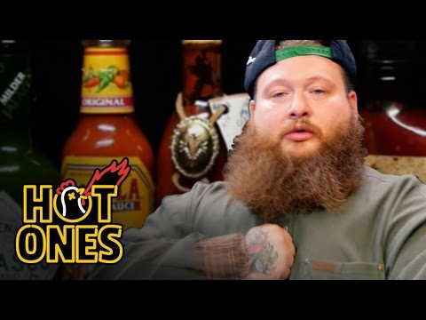 Xxx Mp4 Action Bronson Blows His High Eating Spicy Wings Hot Ones 3gp Sex
