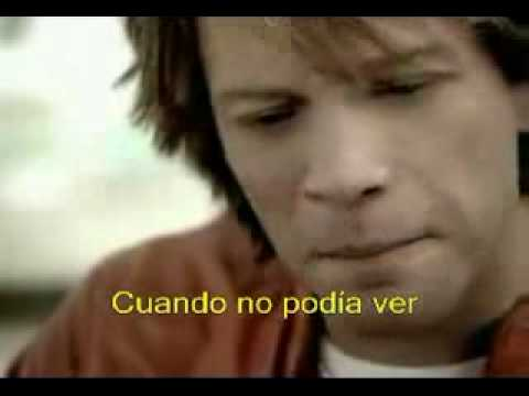 bon jovi thank you for loving me subtitulado