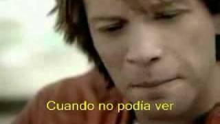 bon jovi - thank you for loving me (subtitulado)