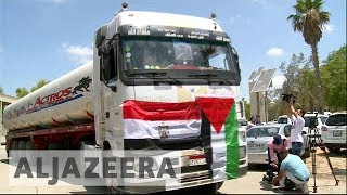 Egypt sends fuel tankers to Gaza to ease power crisis