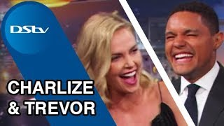 Charlize Theron on The Daily Show with Trevor Noah - July 2017 DStv