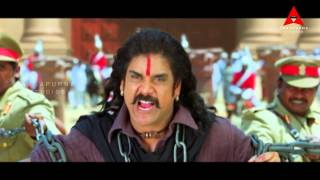 Rajanna Movie || Nagarjuna & Friends Best Action Scene