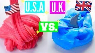 FAMOUS U.S. SLIME SHOP VS FAMOUS U.K. SLIME SHOP! 100% HONEST INSTAGRAM SLIME PACKAGE REVIEW
