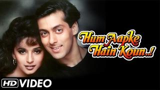 Hum Aapke Hain Koun - Title Song (HD) | Salman Khan And Madhuri Dixit | Classic Romantic Song