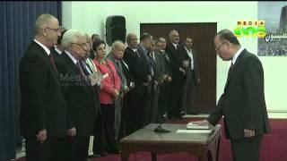 Palestine unity government sworn