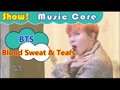 Xxx Mp4 Comeback Stage BTS Blood Sweat Tears 방탄소년단 피 땀 눈물 Show Music Core 20161015 3gp Sex