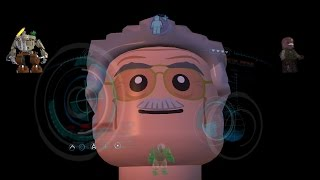 All Iron Man & Stan Lee Suit Up Animations LEGO MARVEL's Avengers