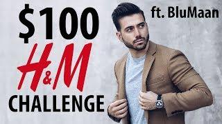 $100 H&M Challenge ft. Blumaan   Affordable Men's Fashion Inspiration   ALEX COSTA