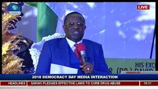 Ebonyi State Governor Holds Democracy Day Executive Media Chat Pt.5