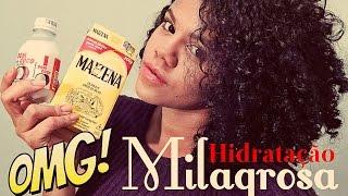 Hidratação Extra  Milagrosa de Maisena com Leite de Coco OMG!