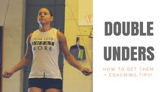 How To Learn Double Unders Fast! ( + Coaching Tips)