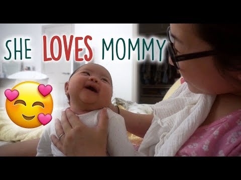 Baby Adores Her Mommy!