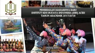 INSTITUT SENI BUDAYA INDONESIA ACEH 2017