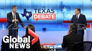 Ted Cruz and Beto O'Rourke square off in final debate before midterm election
