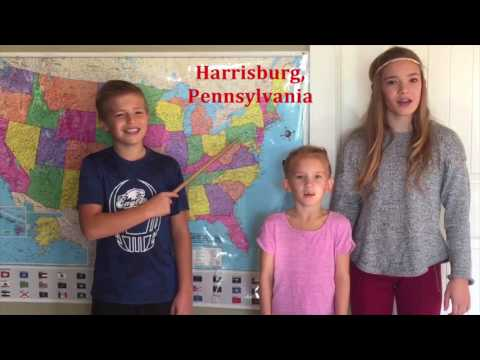 watch North Eastern United States and Capitals - Kofoed Kids