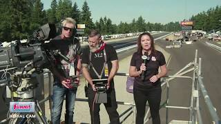Behind the Visor on Drone Coverage at a NHRA event
