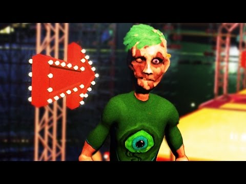 JACKSEPTICEYE CHARACTER IN GAME Ben and Ed Blood Party 1
