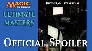 Official Ultimate Masters Spoiler Card [Instagram Livestream]