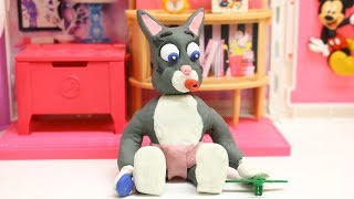 Baby Cat Toys Play Time Claymation Cartoon Episodes Kids Stopmotion videos