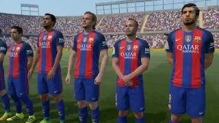 Barcelona FC vs RC Deportivo HD Gameplay Highlights - FIFA 17